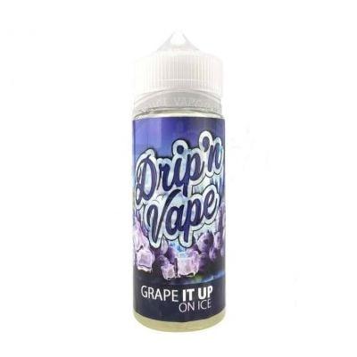 Grape It Up On Ice – Drip'n Vape – 120mL