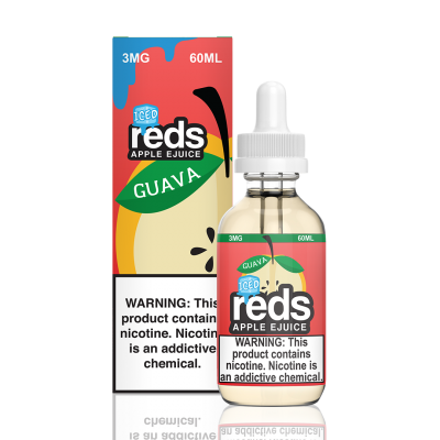 Guava Iced Reds Apple 7 Daze 60mL