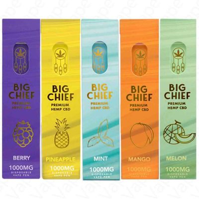 Big Chief CBD 1000MG Disposable Vape Pen