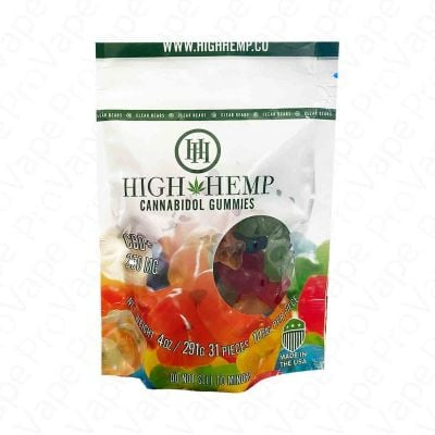 Clear Bears Cannabidol Gummies CBD High Hemp