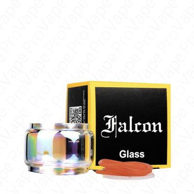 HORIZONTECH - FALCON - REPLACEMENT GLASS-Rainbow-Bubble 7mL