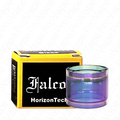 HORIZONTECH - FALCON - REPLACEMENT GLASS-Rainbow-Straight 5mL