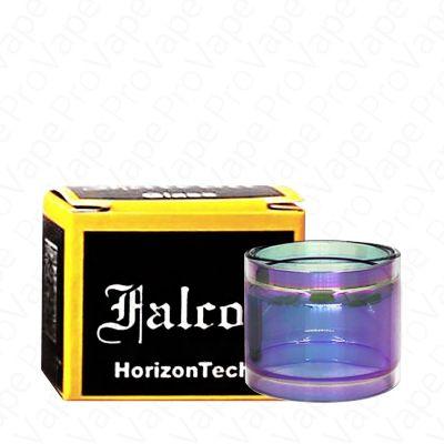 HORIZONTECH - FALCON MINI - REPLACEMENT GLASS-Rainbow-Straight 2mL