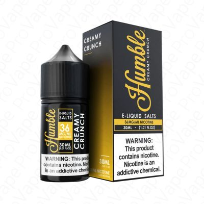 Creamy Crunch Salt Humble 30mL