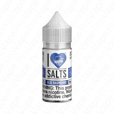 Blue Raspberry I Love Salts Mad Hatter 30mL