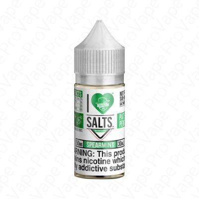 Spearmint I Love Salts Mad Hatter 30mL