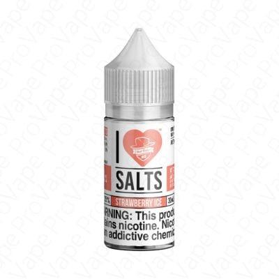 Strawberry Ice I Love Salts Mad Hatter 30mL