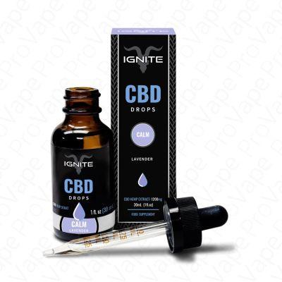 Calm Lavender CBD Drops Ignite 30mL