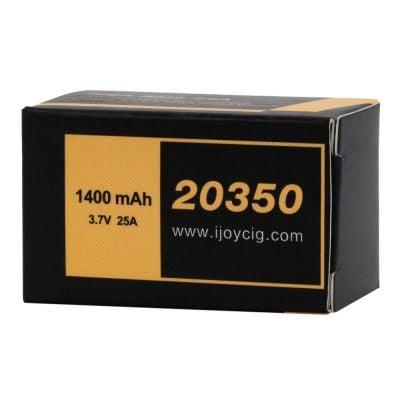 iJoy 20350 3.7V 1400mAh 25A Battery