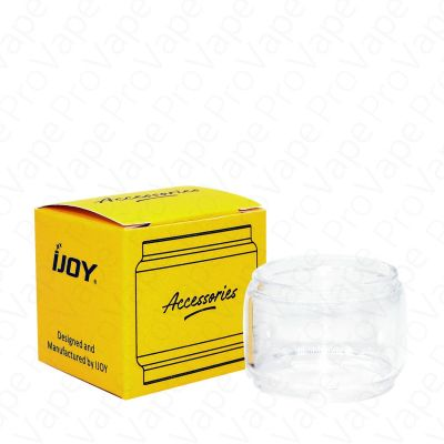iJoy Colored Replacement Glass 1Pack-Clear-Bubble 8mL