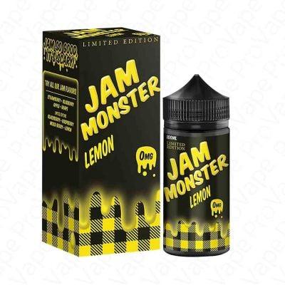 Lemon Limited Edition Jam Monster 100mL
