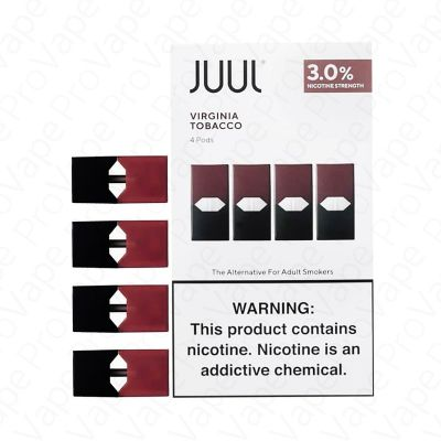 Virginia Tobacco JUUL Pods 3% Nicotine 4 Pack