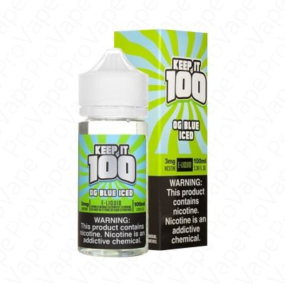 OG Blue Iced (Blue Slushie Iced)  Keep It 100  100mL