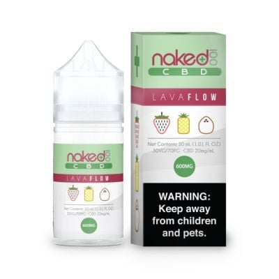 Lava Flow - Naked 100 CBD - 30mL