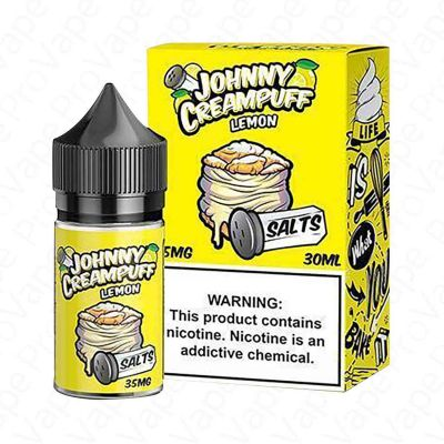 Lemon - Salts-  Johnny Creampuff - 30 ml-35mg