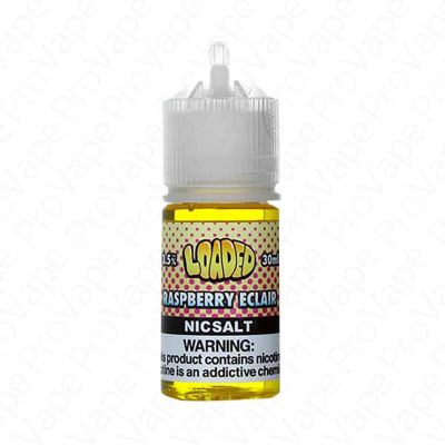 Raspberry Eclair Salt Loaded 30mL