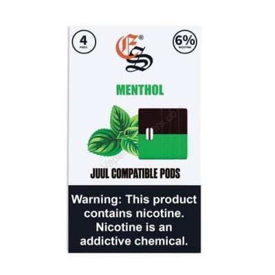 Menthol – Eonsmoke JUUL-Compatible Pods – 6% Nicotine – 4-Pack