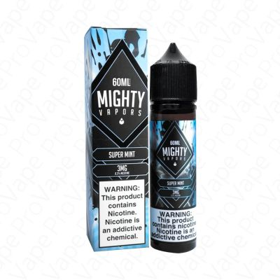 Super Mint Mighty Vapors 60mL