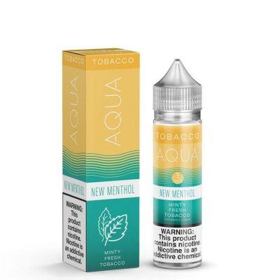New Menthol - AQUA Tobacco E-Liquid - 60mL
