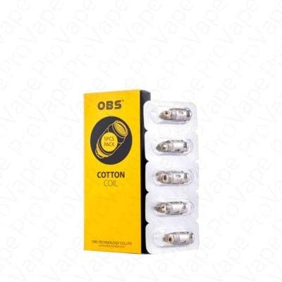 OBS Cotton Replacement Coils 5PCS