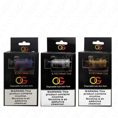 Sikary OG Disposable Tank 3PCS
