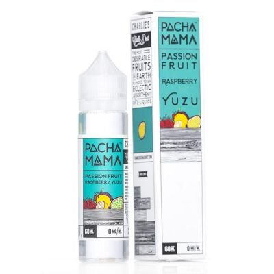 Pachamama 60ml - Passion Fruit Raspberry Yuzu-0mg