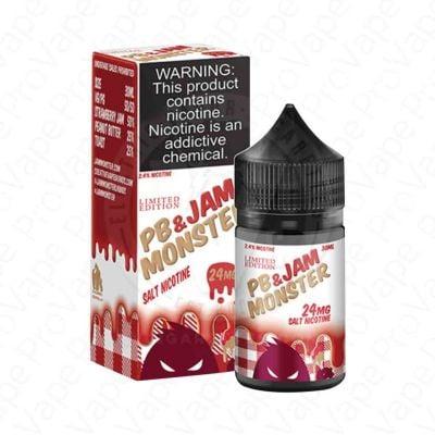 Strawberry PB & Jam Salt Jam Monster 30mL