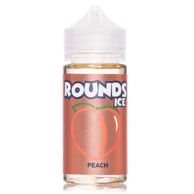 Peach - Rounds Ice - 100mL