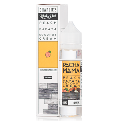 Pachamama 60ml - Peach Papaya Coconut Cream-0mg