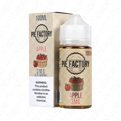 Apple Pie Factory Tailored Vapors 100ML