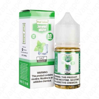 Jewel Mint Salt – Pod Juice – 30mL