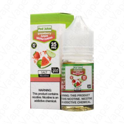 Strawberry Apple Watermelon Salt Pod Juice 30mL