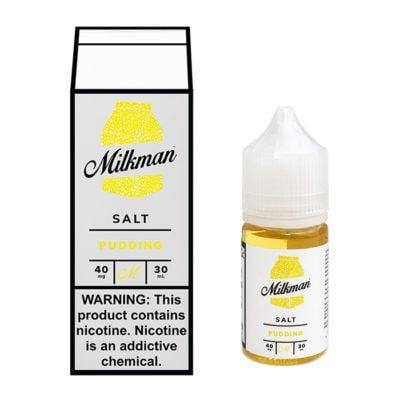 Pudding – The Milkman Salt – 30mL