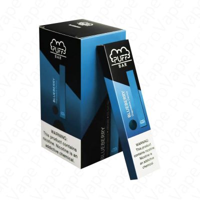 Blueberry Ice Puff Bar Disposable Pod Device 5%