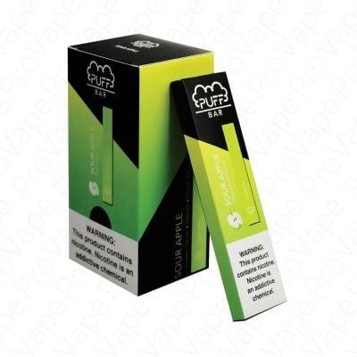 Sour Apple Puff Bar Disposable Pod Device 5%