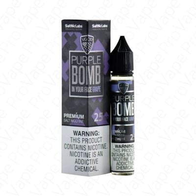 Grape Purple Bomb Salt VGOD 30mL