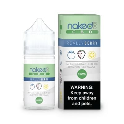 Really Berry - Naked 100 CBD - 30mL