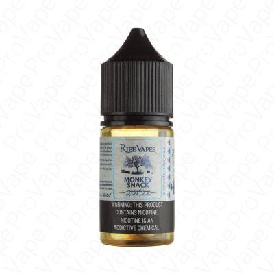 Monkey Snack Salt Ripe Vapes 30mL-30mg
