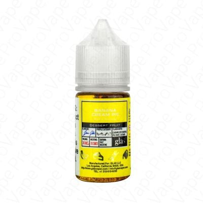 Banana Cream Pie Basix Salt Glas Vapor 30mL