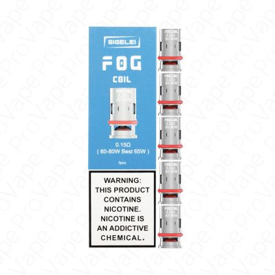 Sigelei Fog Replacement Coils 5PCS