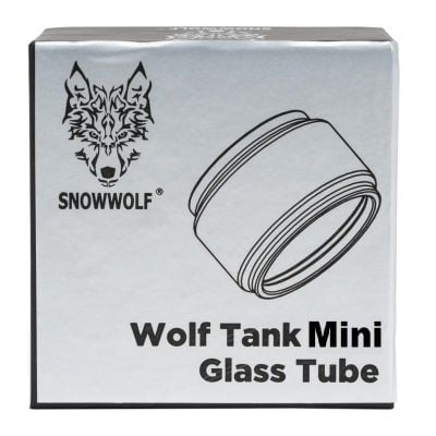 SnowWolf WOLF Tank Mini Bubble Glass Tube
