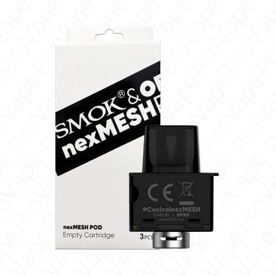 SMOK nexMESH Empty Pod Cartridge 3PCS