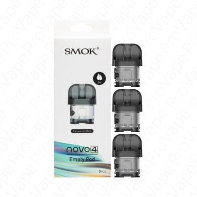 SMOK Novo 4 Empty Replacement Pod 3PCS