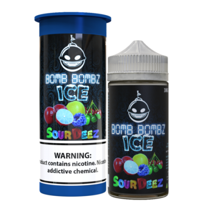 Sour Deez Ice - Bomb BombZ - 100mL