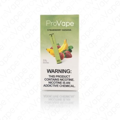 ProVape Disposable Pod - Strawberry Banana (10 Pack)