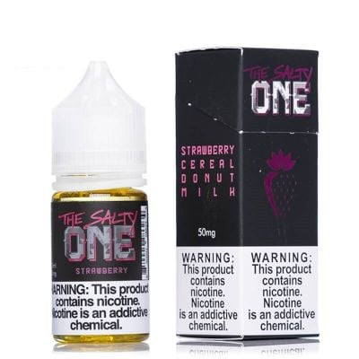 Strawberry Cereal Donut Milk - The Salty One - 30mL