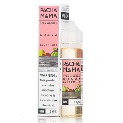 Pachamama 60ml - Strawberry Guava Jackfruit-0mg