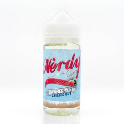 Strawberry Kiwi Chilled Out – Nerdy e-Juice – 100mL