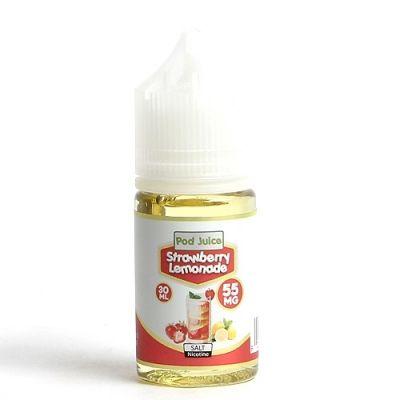 Strawberry Lemonade Salt Pod Juice 30mL-35mg