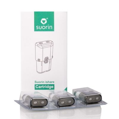 Suorin iShare Replacement Pod Cartridges - 3-Pack